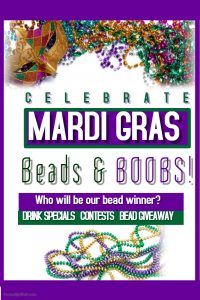 Beads & BOOBS: Mardis Gras! @ The Velvet Rope