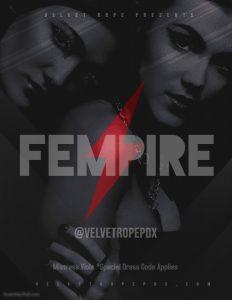 Fempire Strikes Back! @ The Velvet Rope