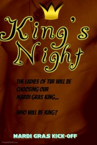 King's Night: Mardi Gras Kick-Off @ The Velvet Rope