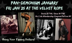 ***Pan-Demonium*** @ The Velvet Rope