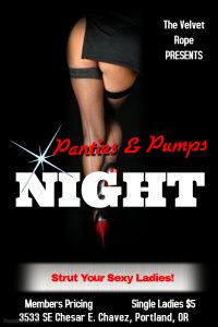 Panties & Pumps @ The Velvet Rope
