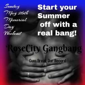 Non-Member Summer Kick-Off: RoseCity Gangbang @ The Velvet Rope