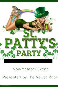 Non-Member Swinger Sunday Presents: St Patty's Party @ The Velvet Rope