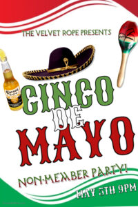 Non-Member Swinger Sunday: Caliente Cinco De Mayo Party @ The Velvet Rope