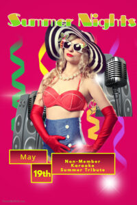 Non-Member Swinger Sunday Presents: Karaoke Summer Nights