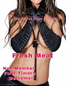 Fresh Meat & Greet Non-Member Event With DJ OSO Fresh @ The Velvet Rope