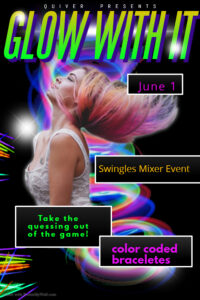 Glow With It: Swingles Mixer Hosted By Quiver @ The Velvet Rope