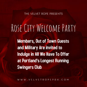 Rose City Welcome Party @ The Velvet Rope