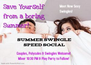 Summer Swingle Speed Social @ The Velvet Rope