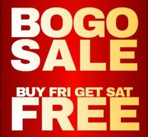Member Couple BOGO Weekend!