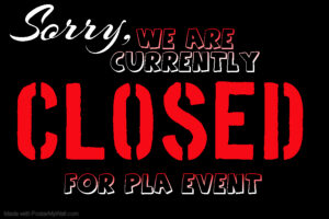 CLOSED FOR PRIVATE PLA EVENT @ The Velvet Rope