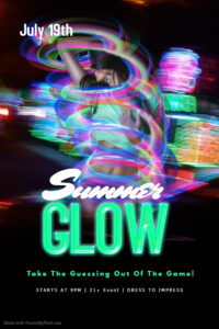 Summer GLOW Party @ The Velvet Rope