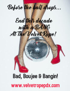 RoseCity Gangbang Presents: Bad, Boujee & Bangin! @ The Velvet Rope