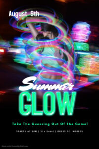 Summer GLOW Mixer @ The Velvet Rope