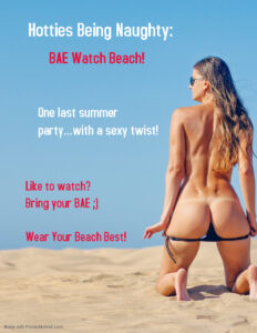 Hotties Being Naughty: BAE Watch Beach @ The Velvet Rope