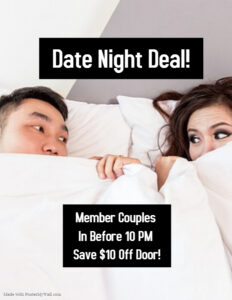 Date Night Deal In Before 10 PM