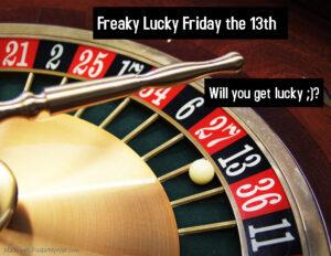 Freaky Lucky Friday The 13th @ The Velvet Rope
