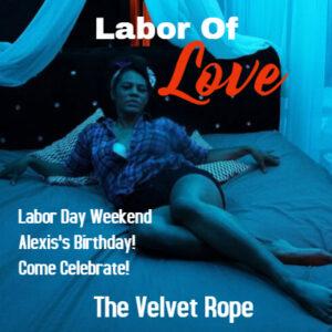 Alexis's Birthday Party Non-Member Event @ The velvet Strip