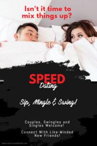 Sip, Mingle & Swing: Couples, Swingles & Singles Speed Dating @ The Velvet Rope