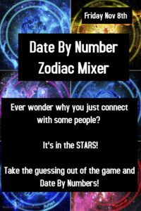 Date By Number Zodiac Mixer & Scorpio Birthdays! @ The Velvet Rope