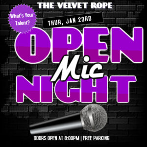 Open Mic Night With The Happiest Happy Hour In Portland At 8 PM