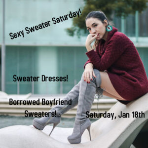 Quiver Night: Sexy Sweater Saturday!
