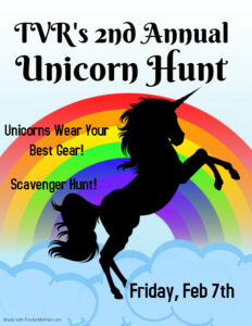 TVR's Second Annual Unicorn Hunt