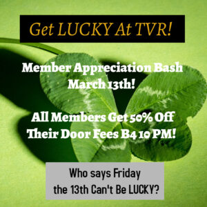 Lucky 13 Member Appreciation Party