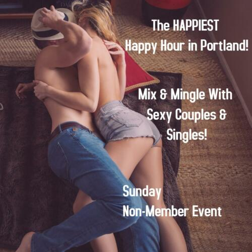 Non-Member Swinger Sunday Happiest Happy Hour!