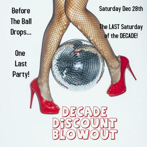 Decade Discount Blowout 12/28