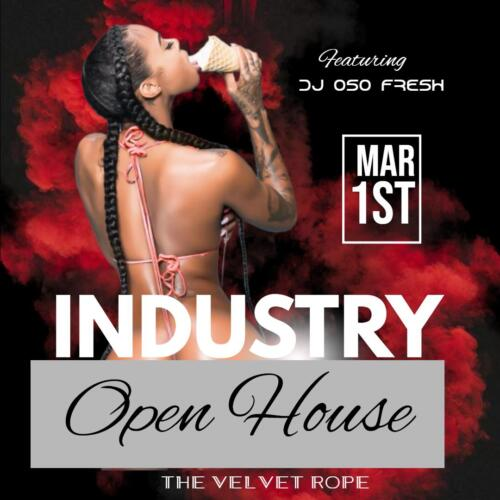 Industry Open House, Sunday, March 1st