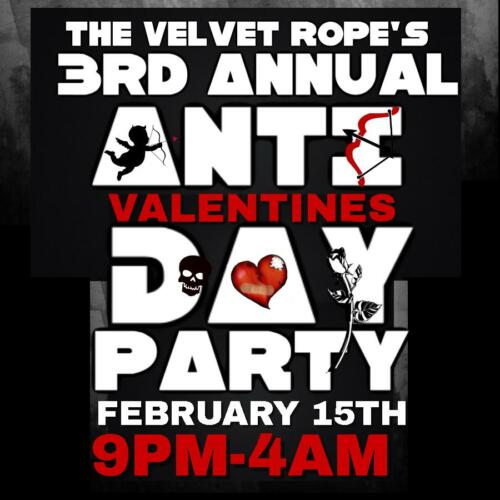 Anti-Valentines Party, Saturday, Feb 15th