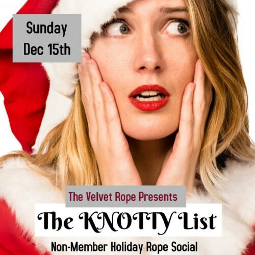 Holiday Rope Social Dec 15th