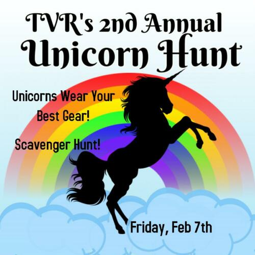 2nd Annual Unicorn Hunt, Friday, Feb 7th