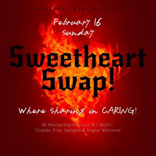 Sweatheart Swap Non-Member Event, Sunday, Feb 16th