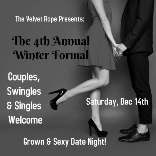 Winter Formal December 14th